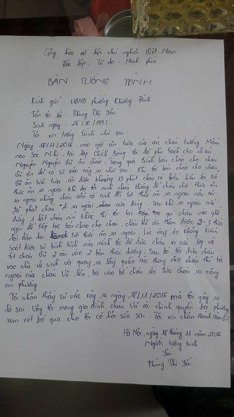 Be trai 18 thang non khi an bi co giao tat vao dau - Anh 2