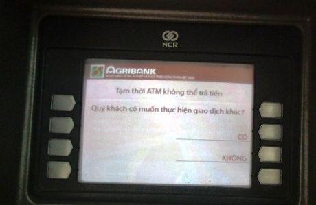Sau mot dem mat ca tram trieu dong trong tai khoan ATM Ngan hang Agribank - Anh 1
