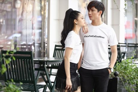 Vo chong Tim- Truong Quynh Anh dien do doi sieu de thuong - Anh 3