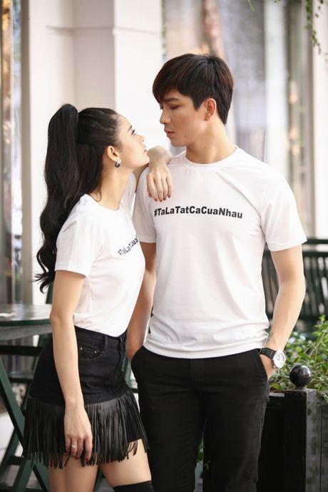 Vo chong Tim- Truong Quynh Anh dien do doi sieu de thuong - Anh 4