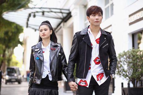 Vo chong Tim- Truong Quynh Anh dien do doi sieu de thuong - Anh 6