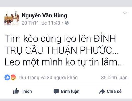Da Nang: Nua dem leo day cap len dinh cau Thuan Phuoc... chup anh! - Anh 6