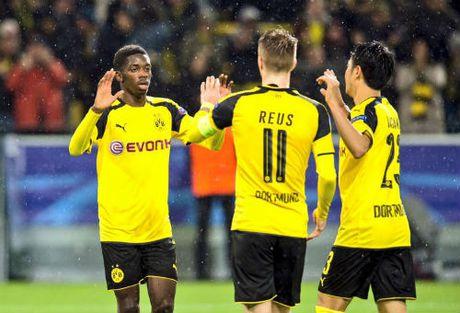 """Dortmund - Legia: Dien ro """"dai tiec"""" 12 ban thang - Anh 1"""