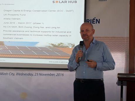 Du an Solar Hub san xuat 18 trieu KWh dien Mat troi moi nam - Anh 1