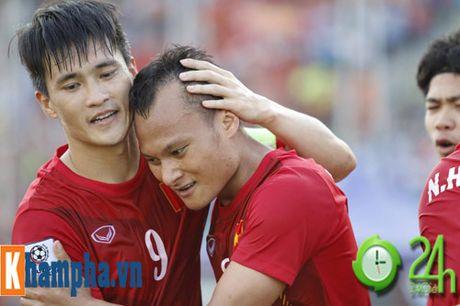 Trong Hoang: Tu dong the thanh nguoi hung DT Viet Nam - Anh 8