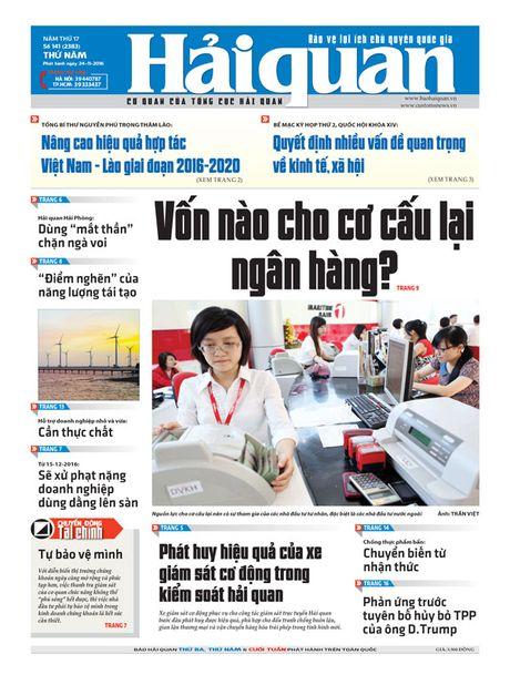 Nhung tin, bai hap dan tren Bao Hai quan so 141 phat hanh ngay 24-11 - Anh 1