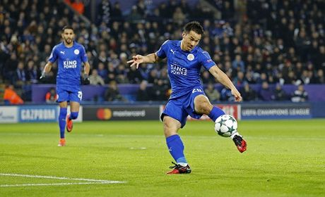Leicester viet tiep chuyen co tich o Champions League - Anh 1