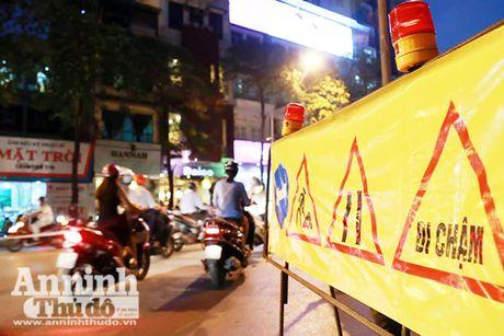 Vat va phan luong giao thong phuc vu thi cong duong sat do thi Nhon – Ga Ha Noi - Anh 3