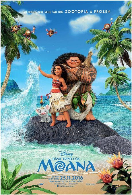 'Sao' Viet no nuc di xem sieu pham phim hoat hinh cua Disney - Anh 2