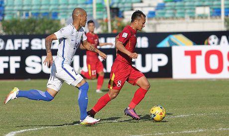'Cong than' Trong Hoang chua hai long sau tran thang Malaysia - Anh 1