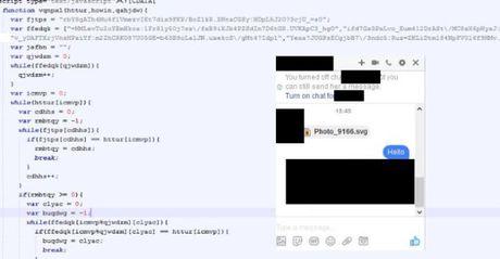 Ma doc phat tan qua facebook messenger khong lien quan den ma doc tong tien Locky - Anh 1