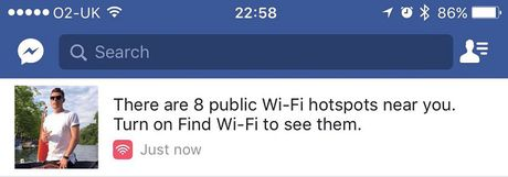 Ung dung Facebook se biet do diem phat WiFi mien phi - Anh 3