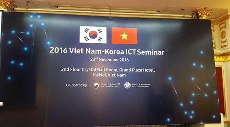 Han Quoc se ho tro Viet Nam phat trien mang 4G, 5G - Anh 1