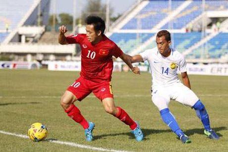 Trong Hoang ghi ban vao luoi Malaysia, tuyen VN thang tien ban ket AFF Cup - Anh 4