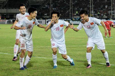 Trong Hoang ghi ban vao luoi Malaysia, tuyen VN thang tien ban ket AFF Cup - Anh 7