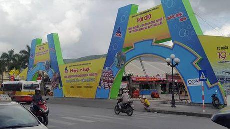 250 gian hang tham gia hoi cho tai TP Cam Pha - Anh 1