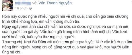 Sao Viet cung fans dong vien Van Hugo: Co len, dung bo cuoc, dung buong tay - Anh 10