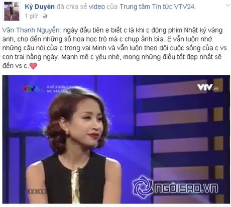 Sao Viet cung fans dong vien Van Hugo: Co len, dung bo cuoc, dung buong tay - Anh 1