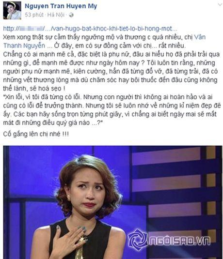 Sao Viet cung fans dong vien Van Hugo: Co len, dung bo cuoc, dung buong tay - Anh 2