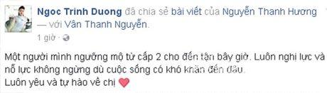 Sao Viet cung fans dong vien Van Hugo: Co len, dung bo cuoc, dung buong tay - Anh 3