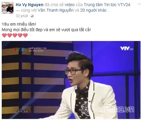 Sao Viet cung fans dong vien Van Hugo: Co len, dung bo cuoc, dung buong tay - Anh 4