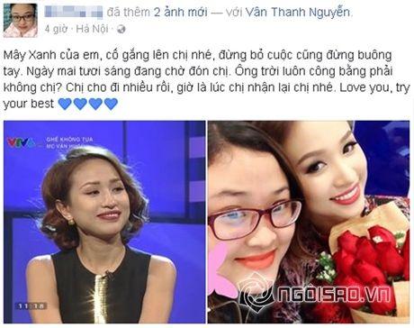 Sao Viet cung fans dong vien Van Hugo: Co len, dung bo cuoc, dung buong tay - Anh 5