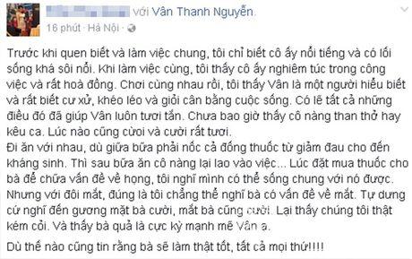 Sao Viet cung fans dong vien Van Hugo: Co len, dung bo cuoc, dung buong tay - Anh 7