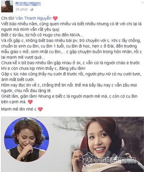 Sao Viet cung fans dong vien Van Hugo: Co len, dung bo cuoc, dung buong tay - Anh 8