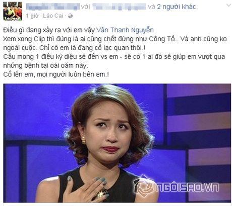 Sao Viet cung fans dong vien Van Hugo: Co len, dung bo cuoc, dung buong tay - Anh 9