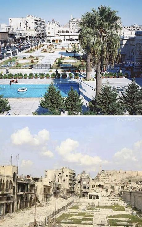 Aleppo: Tu do thi phon hoa thanh chien truong ac liet - Anh 3
