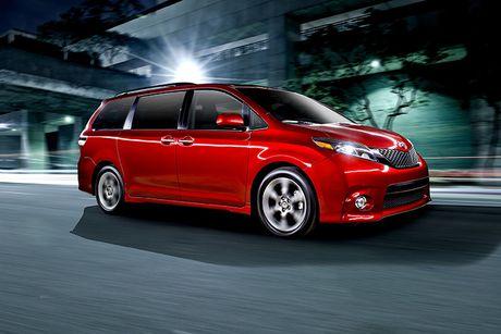 Toyota trieu hoi 744.000 chiec minivan Sienna vi loi cua tu mo - Anh 1