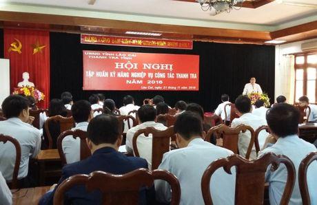 Thanh tra tinh Lao Cai: Tap huan boi duong ky nang nghiep vu - Anh 1