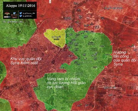 Tran 'Stalingrad Syria': Tan khoc cuoc chien do thi, duong ham o tu dia Aleppo (video) - Anh 1