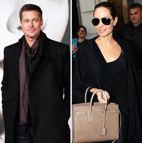 Angelina Jolie 'khan cau' Brad Pitt don Le ta on cung cac con - Anh 2