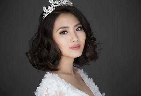 'Kieu nu' Ngoc Lan hoa co dau rang ngoi truoc ngay lam bon - Anh 5