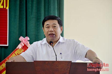 Chu tich UBND tinh: Bo GTVT da dong y lam duong ket noi de phat huy hieu qua cau Yen Xuan - Anh 4
