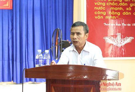 Truong Ban Tuyen giao Tinh uy tiep xuc cu tri Hoang Mai - Anh 1