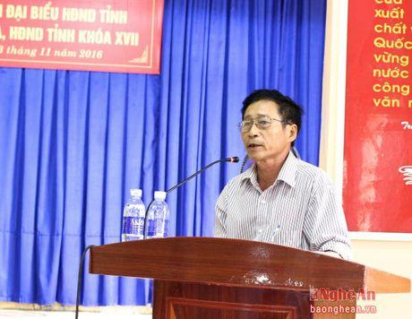 Truong Ban Tuyen giao Tinh uy tiep xuc cu tri Hoang Mai - Anh 2