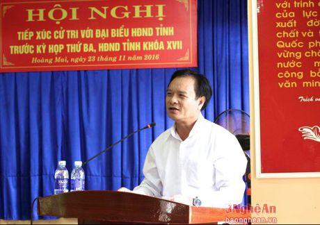Truong Ban Tuyen giao Tinh uy tiep xuc cu tri Hoang Mai - Anh 3