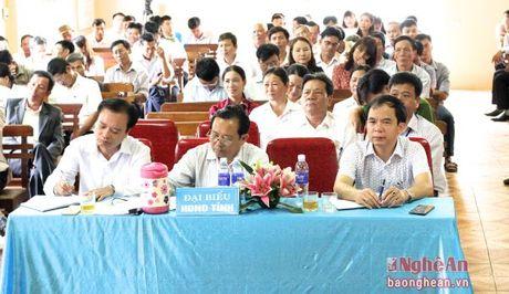 Truong Ban Tuyen giao Tinh uy tiep xuc cu tri Hoang Mai - Anh 4
