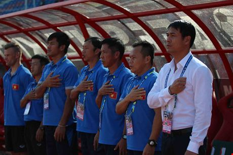 Viet Nam - Malaysia (1-0): Dau an cua HLV Huu Thang - Anh 1