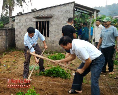 Nam Dan: khoi cong xay dung nha dai doan ket - Anh 1