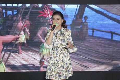 Minh Nhu khoe giong hat trong dem ra mat 'Hanh trinh cua Moana' - Anh 3
