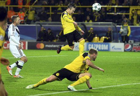 Reus ghi hat-trick trong tran dau lap ky luc ban thang - Anh 11