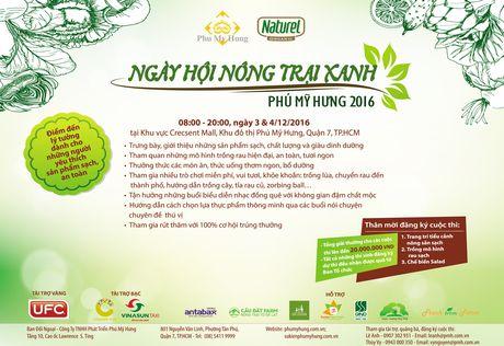 Phu My Hung to chuc 'Ngay hoi Nong trai xanh 2016' - Anh 1
