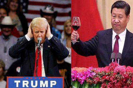 Donald Trump gay chan dong, Trung Quoc noi len 'chiem co' - Anh 1