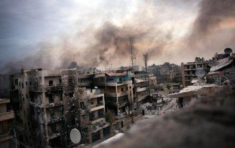 Tinh hinh nhan dao tai Aleppo (Syria) dang o muc dang bao dong - Anh 1