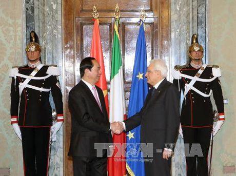 Hinh anh: Chuyen tham cua Chu tich nuoc Tran Dai Quang toi Italy - Anh 8