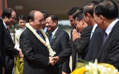 Thu tuong Nguyen Xuan Phuc toi Campuchia du Hoi nghi cap cao CLV 9 - Anh 1