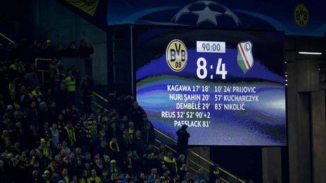 Top 5 tran dau nhieu ban thang nhat tai Champions League - Anh 3